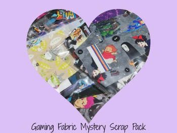 Gaming Fabric Mystery Scrap Pack