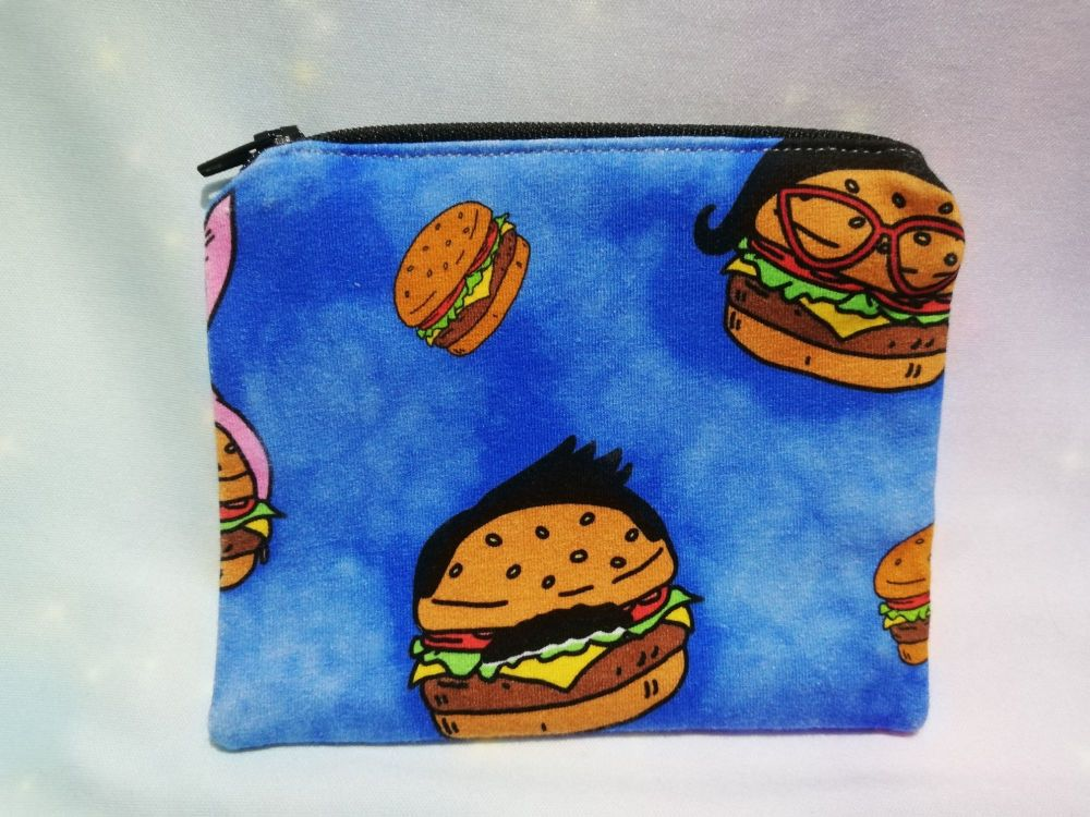 Zip Pouch Made With Bobs Burgers Fabric