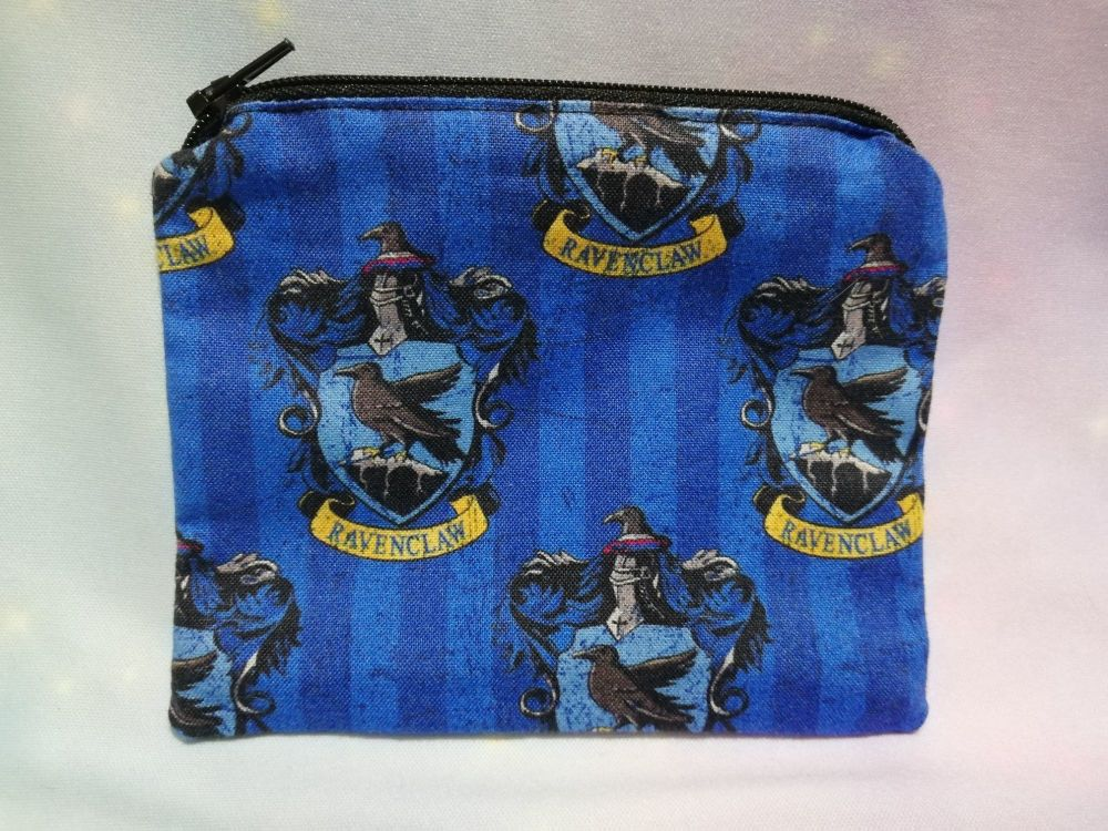 Zip Pouch Made With Harry Potter House Fabric - Ravenclaw 1