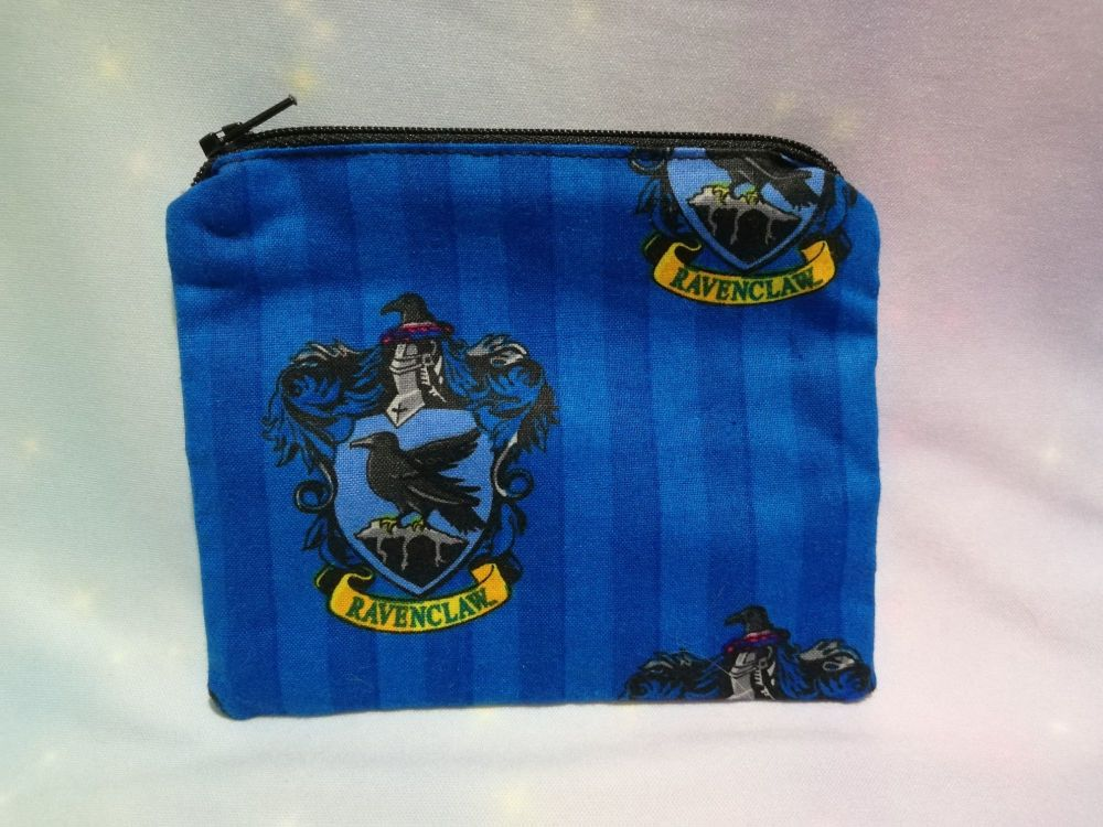 Zip Pouch Made With Harry Potter House Fabric - Ravenclaw 2