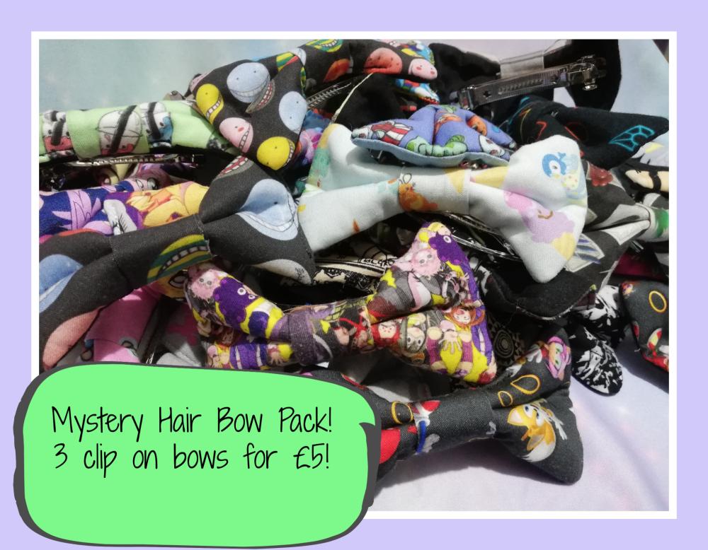 Mystery Hair Bow Pack
