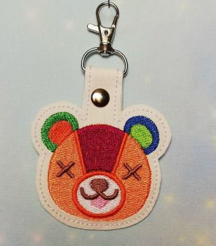 Animal Crossing Inspired Keyring - Stitches