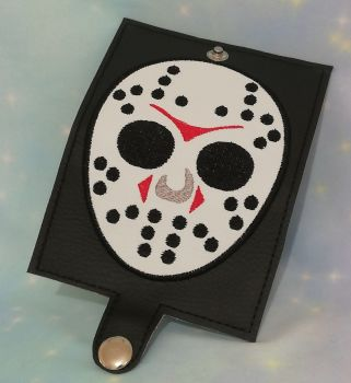 Friday The 13th Inspired Card Wallet