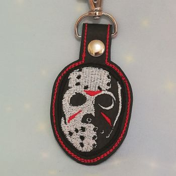 Friday the 13th Inspired Keyring