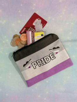 Pride Flag Zip Pouches