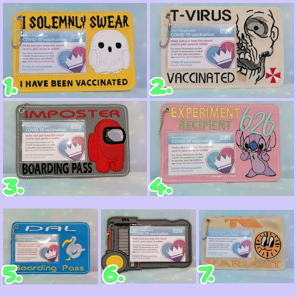 Small Vaccine Card Holder