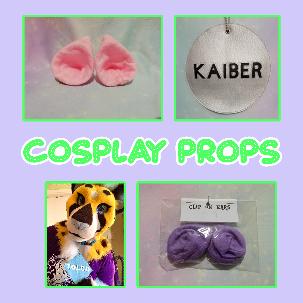 Cosplay props