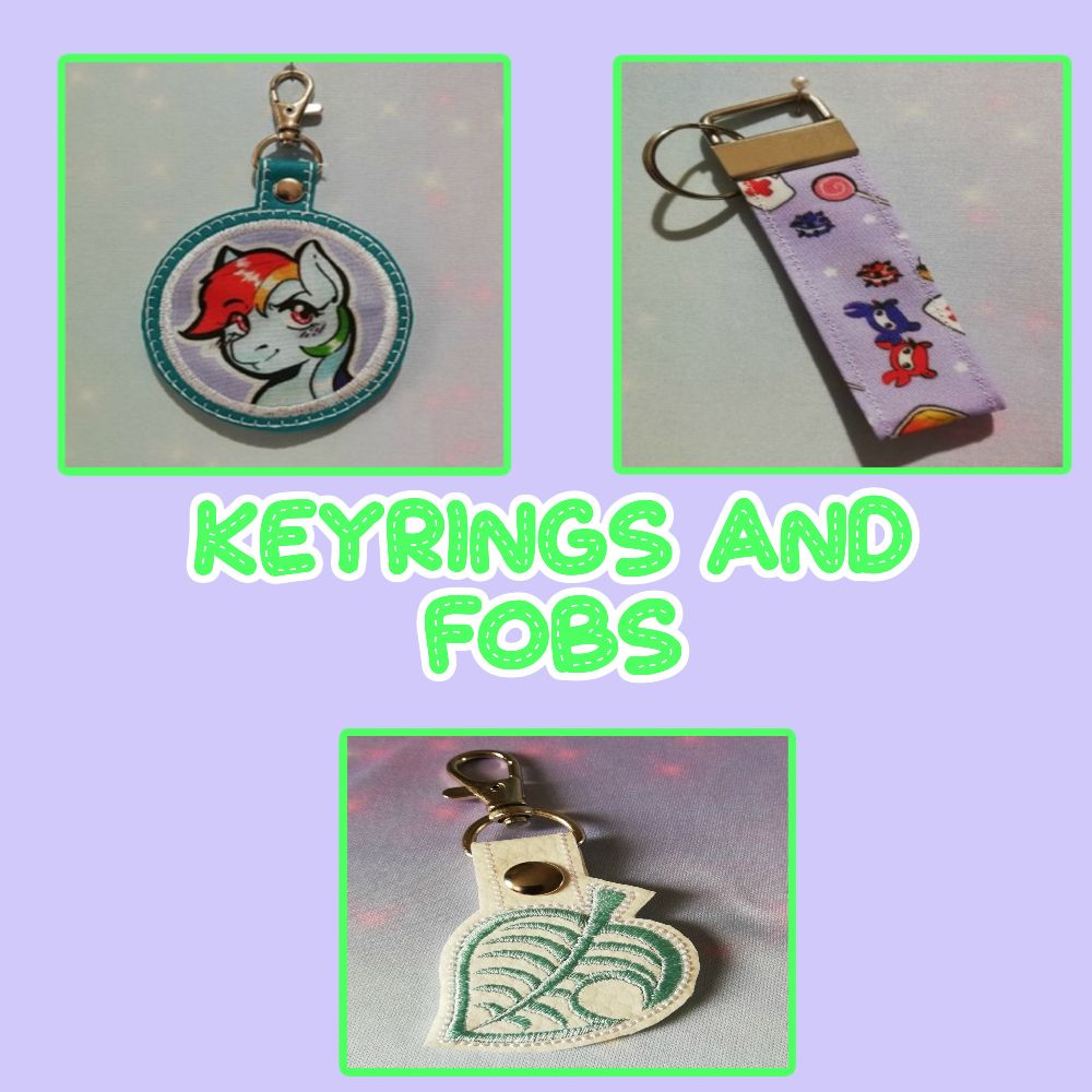 Keyrings And Fobs