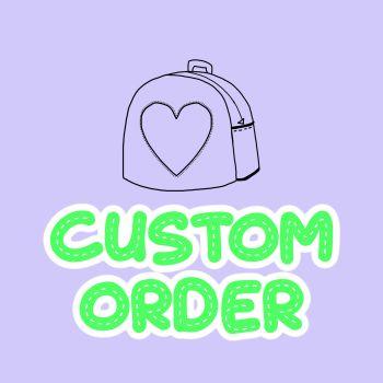 Custom Order for Riley Mcmillion