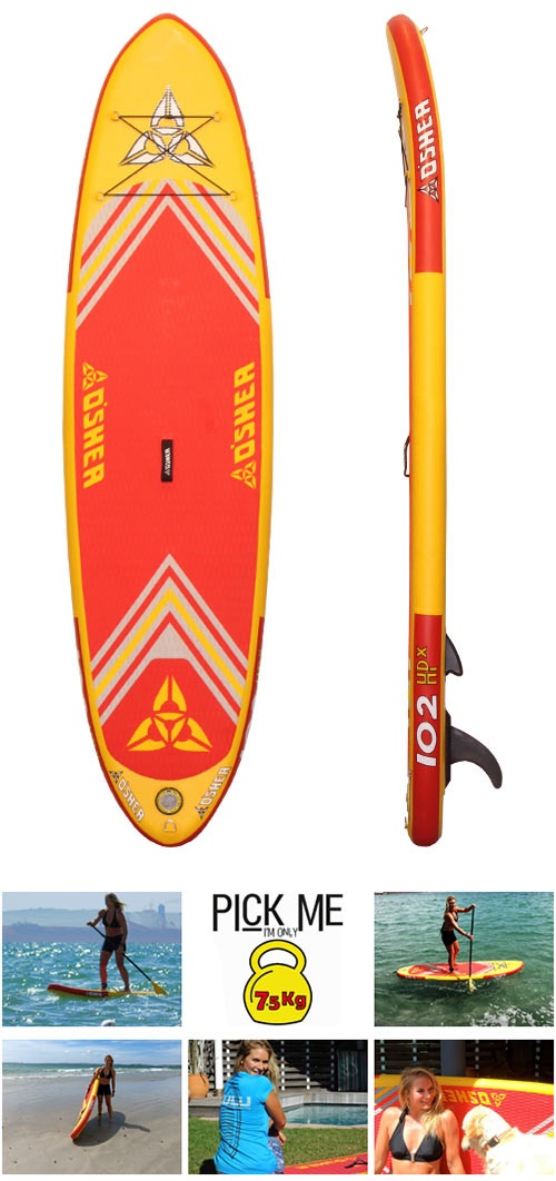 The O'Shea 10'2″ HPx Inflatable SUP
