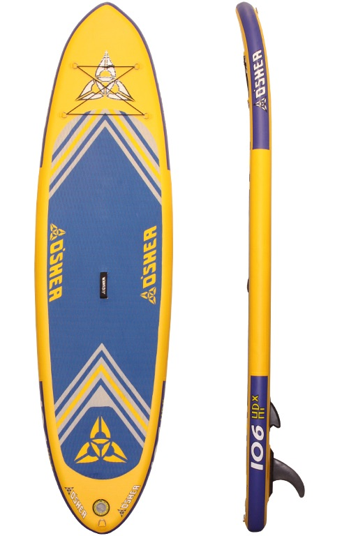 The O'Shea 10'2″ HPx Inflatable SUP  The 10'2 is our most popular inflatabl