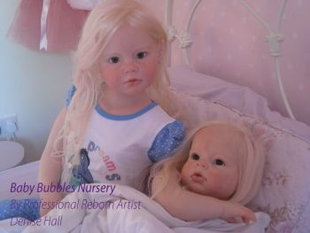 Custom order Any Larger Toddler Child Size Doll Angelica Reva Schick