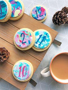 12 Days Of Christmas Cookie Advent Calendar