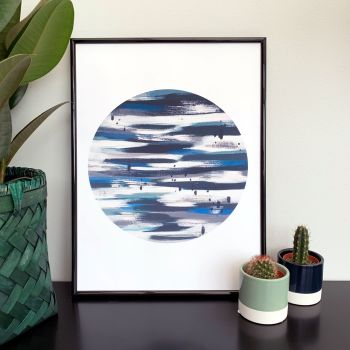 'Luna' Abstract Print