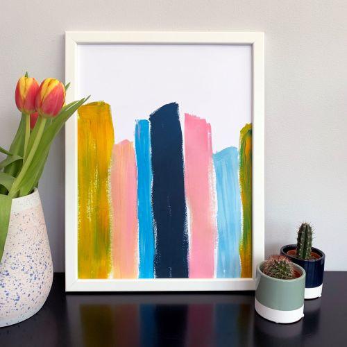 'Burano' Abstract Print