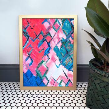 'Medina' Abstract Print