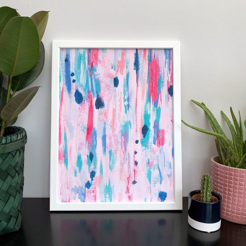 'Felicity' Abstract Print