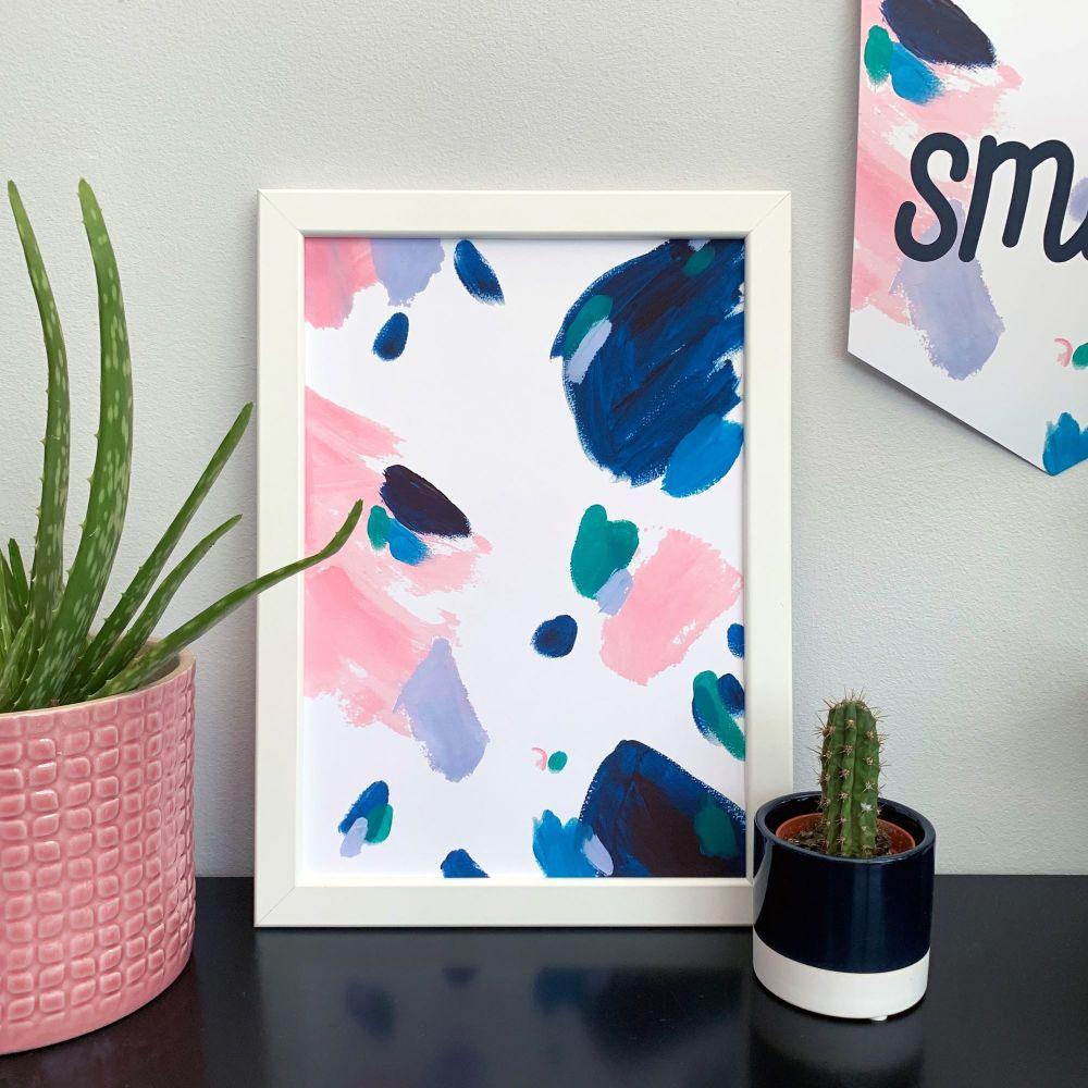 'Lola' Abstract Print