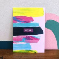 'Hello' Postcard