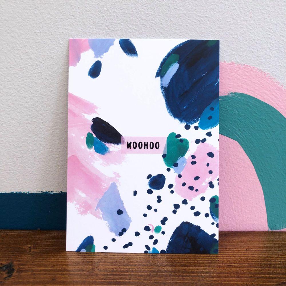 'Woohoo' Postcard