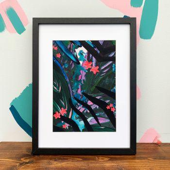 'Tropic Zebra' Print