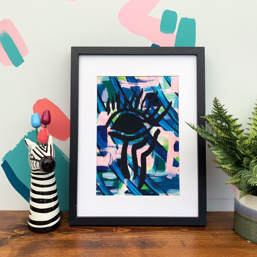 'Eye Eye' Abstract Print