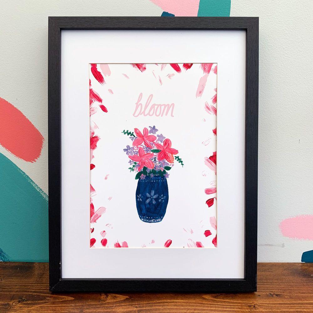 'Bloom Vase' Print