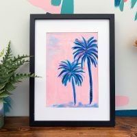 'Tropical Palms' Print