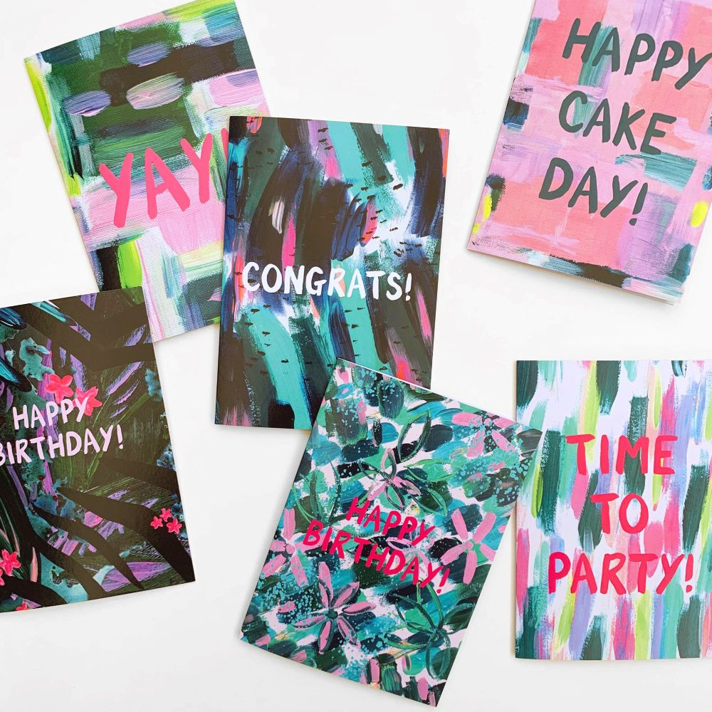 Pack of 6 Greetings Cards *free delivery*