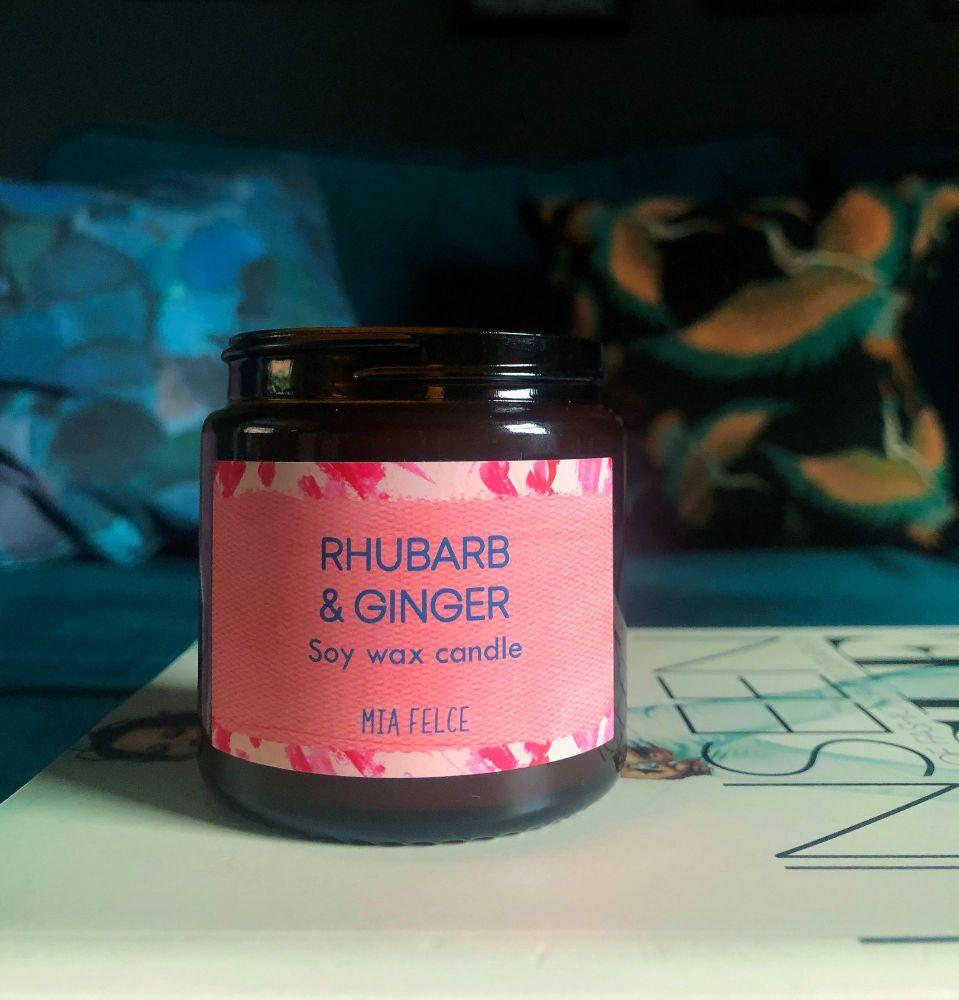 Rhubarb & Ginger Candle