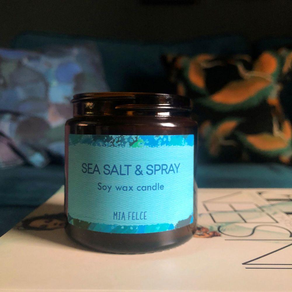 Sea Salt & Spray Candle