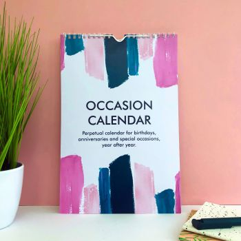 Perpetual Occasion Calendar - Abstract