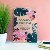 Perpetual Occasion Calendar - Plants