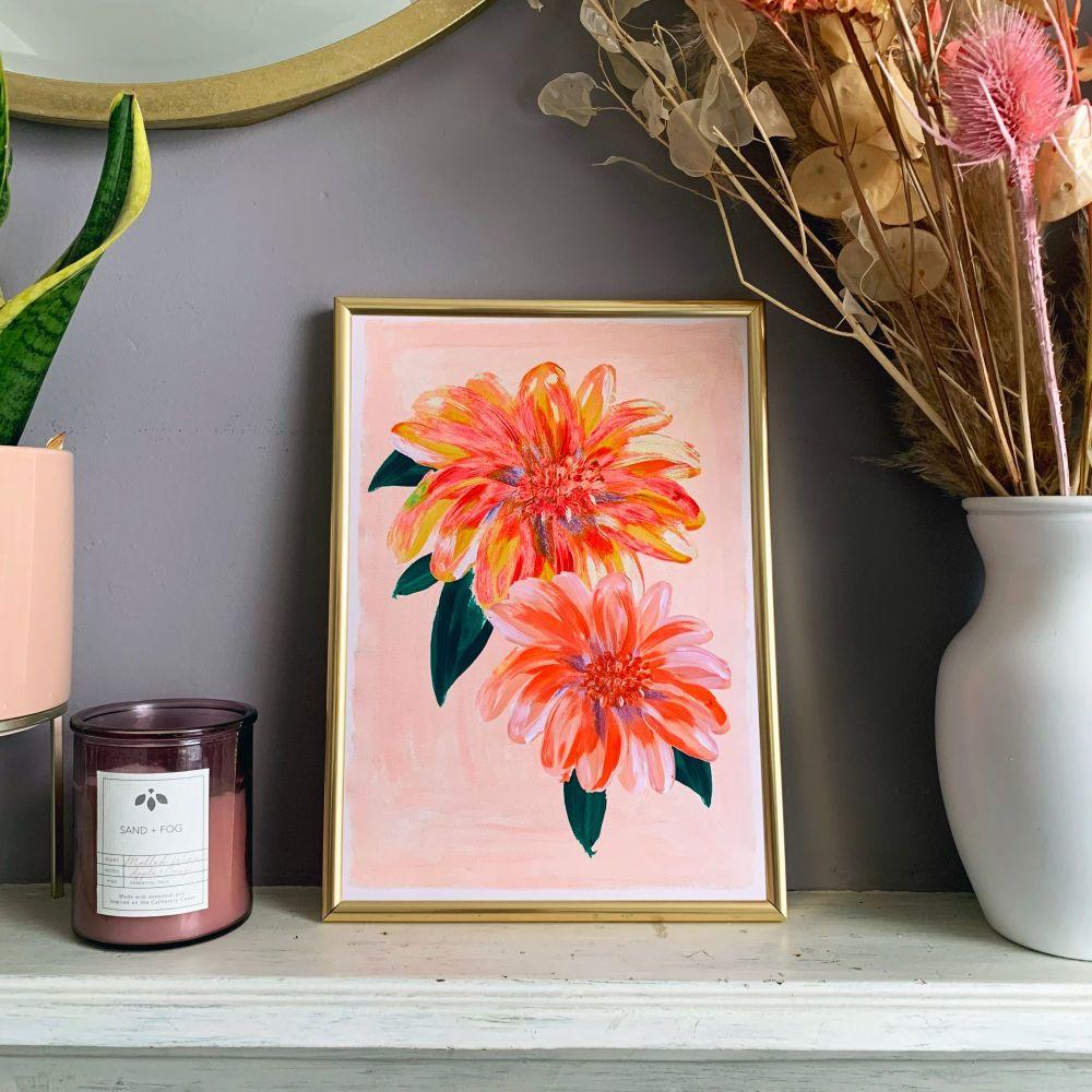 'Flora' Print (Portrait)