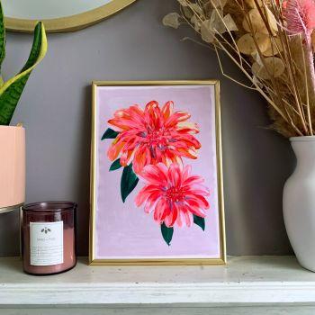 'Fleur' Print (Portrait)
