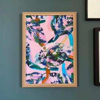 'Falling Leaves' Print