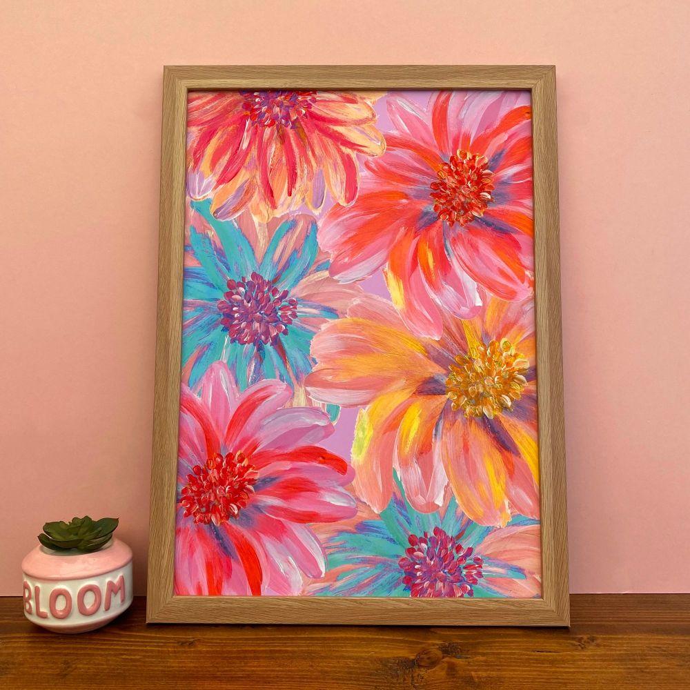'Flower Power' Print