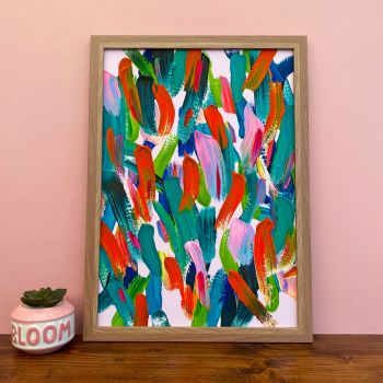 'Tutti Frutti' Abstract Print