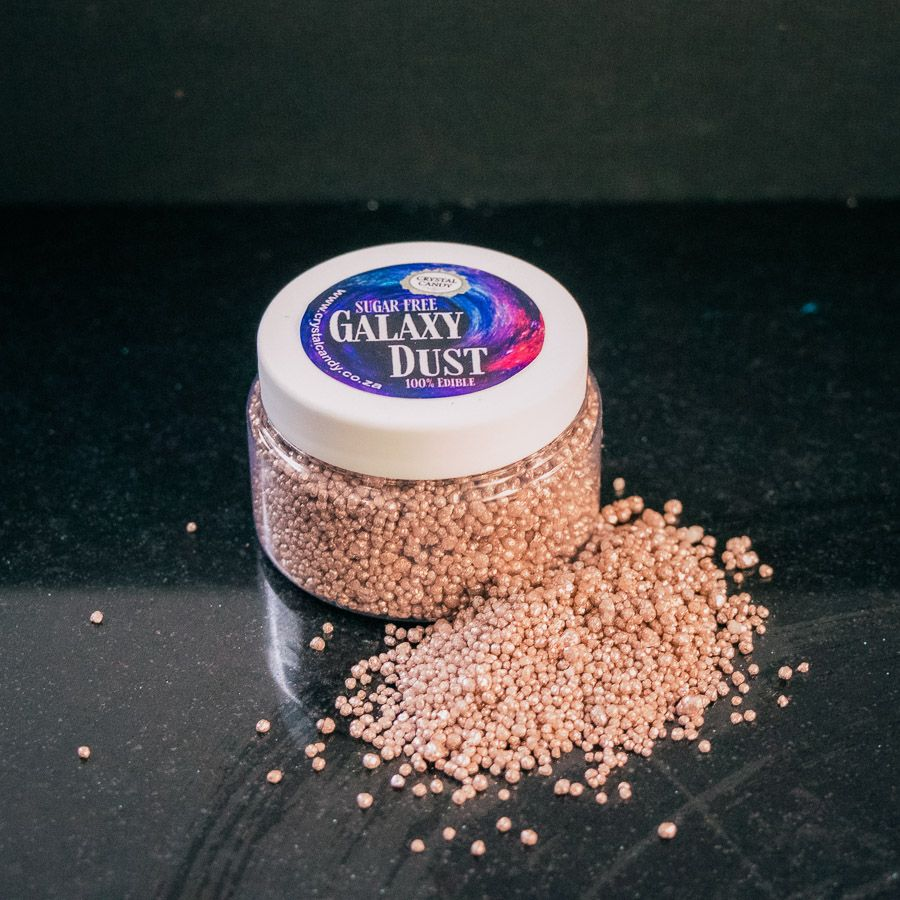 Crystal Candy Galaxy Dust - Luxury Rose Gold
