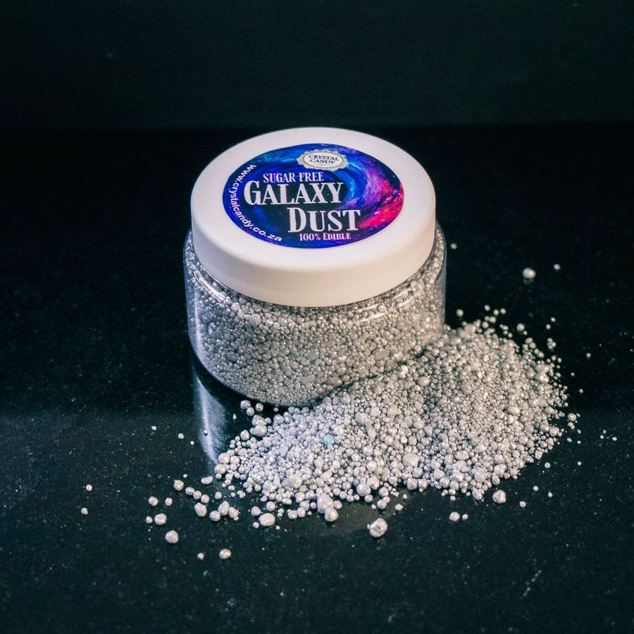 Crystal Candy Galaxy Dust - Graphite (Silver)