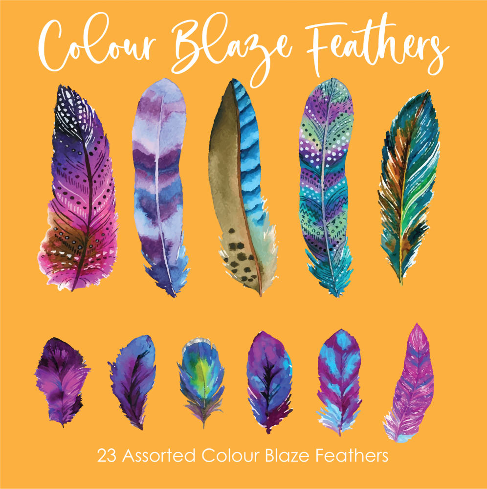 Crystal Candy Camila Collection - Colour Blaze Feathers