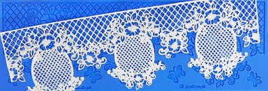 Crystal Candy Silicon Lace Moulds - Gold -  Dee Vine
