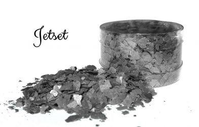 Crystal Candy Edible Flakes -  Jet Set