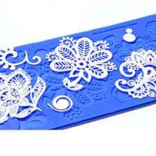 Crystal Candy Silicon Lace Moulds - Gold -  Bebe