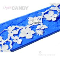 Crystal Candy Silicon Lace Mats - Platinum - Shibumi