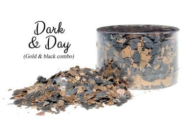 Crystal Candy Edible Flakes -  Dark & Day