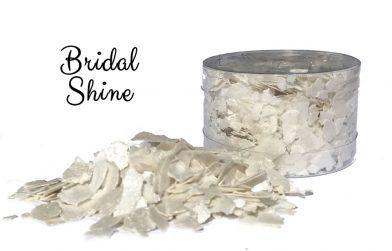 Crystal Candy Edible Flakes -  Bridal Shine
