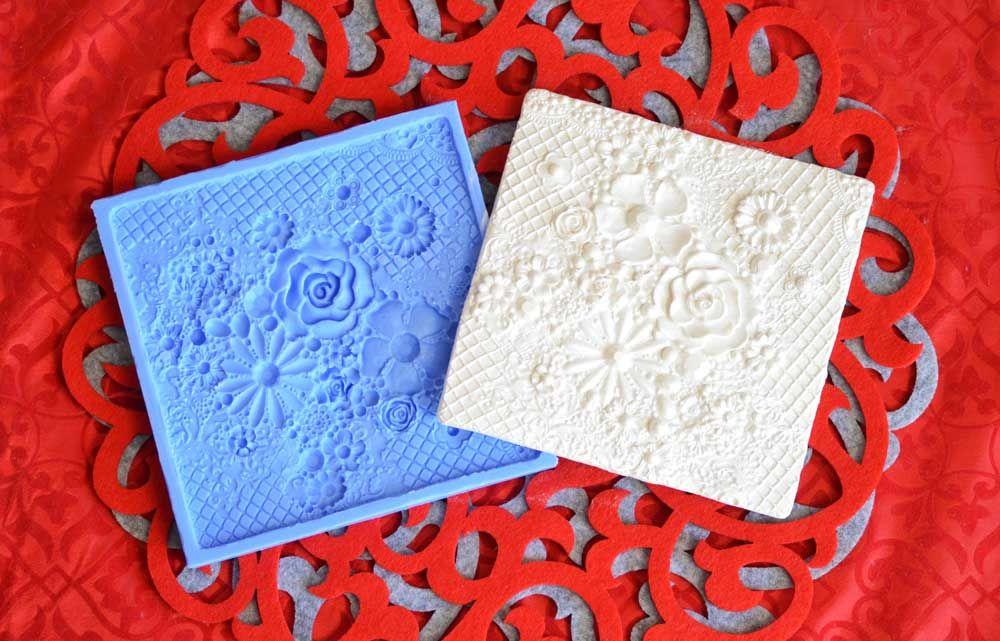 Crystal Candy Bas Relief Moulds - Floral Sensation