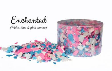 Crystal Candy Edible Flakes -  Enchanted