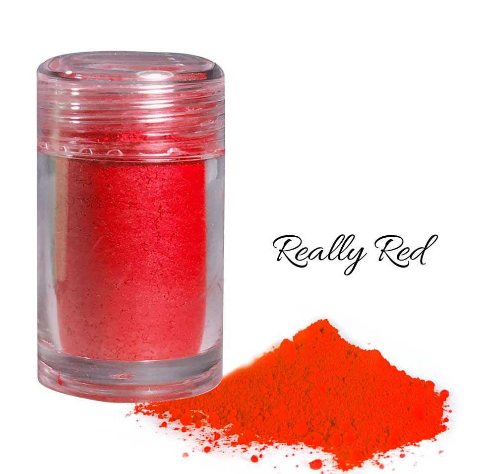 Crystal Candy So Intense Food Colour Powders - Really Red